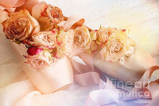 Roses and Dance Shoes by Ann Garrett