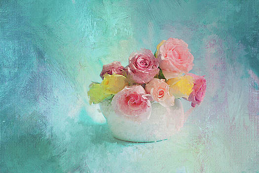 Roses in a Bowl by Jeff Oates Photography