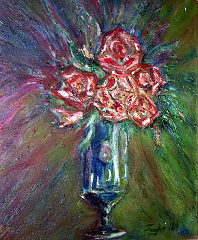 Patricia Taylor - Roses in a Vase