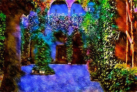 Cindy Boyd - Roses in The Courtyard
