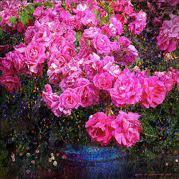 Roses On The Mantle by R christopher Vest