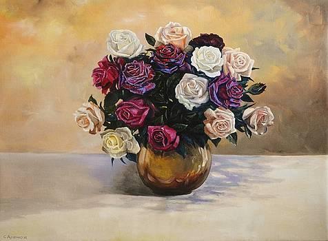 Roses by Sergey Lutsenko