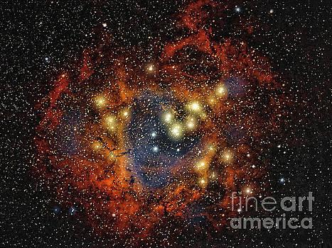 Rosette Nebula  ... by Chuck Caramella