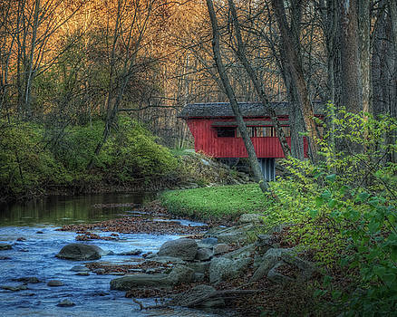 Ross Covered Bridge by Pamela Baker