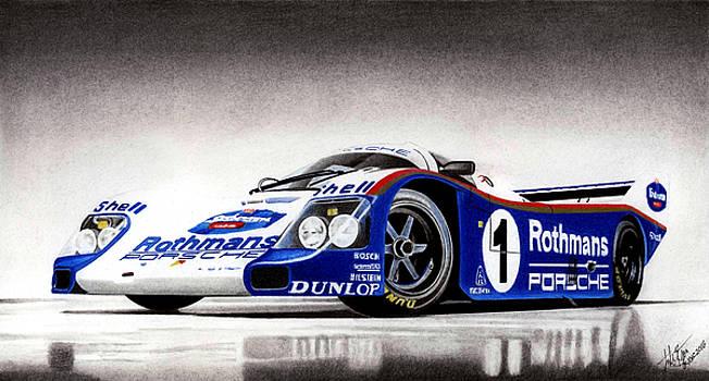 Rothmans Porsche by Lyle Brown