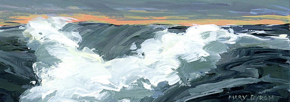 Rough Seas III by Mary Byrom