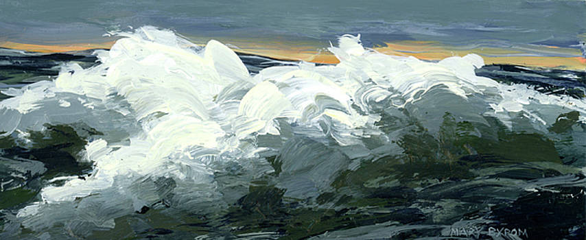 Rough Seas 4 by Mary Byrom