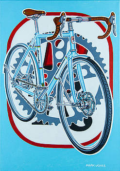 Rourke bicycle by Mark Howard Jones