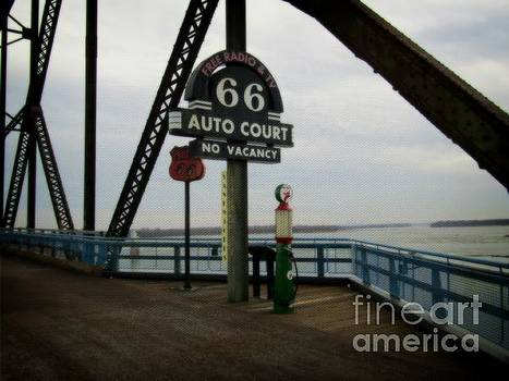Route 66 Auto Court by Kelly Awad
