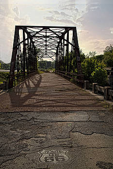Route 66 Bridge by Katherine Worley