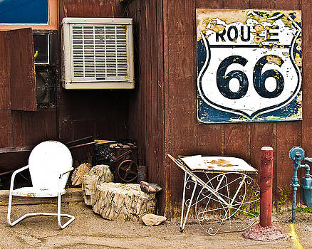 Route 66 Diner by Ed Selby