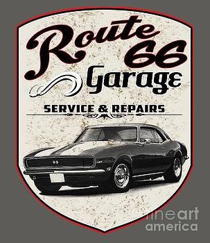 Route 66 Garage by Paul Kuras