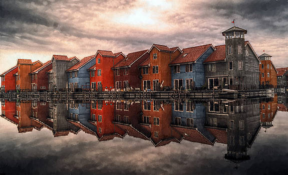 Row Houses by William Wooding