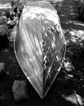 Rowboat in Black and White by Alan Socolik