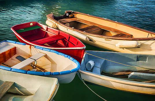 Rowboats by Mick Burkey