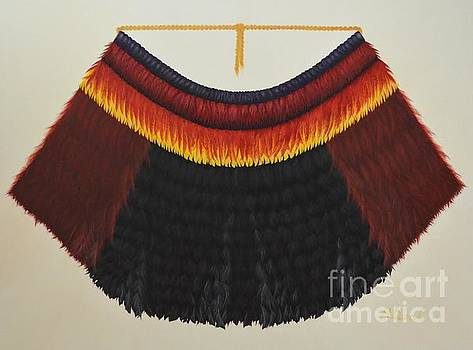 Mary Deal - Royal Hawaiian Feather Cape