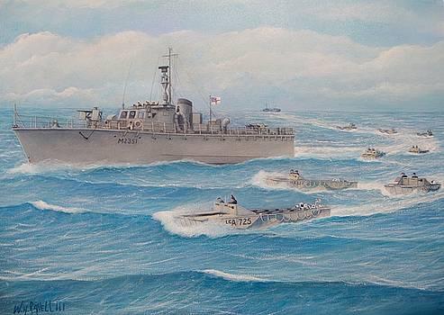 Royal Marine flotilla 25 Malaya 1945 by William H RaVell III