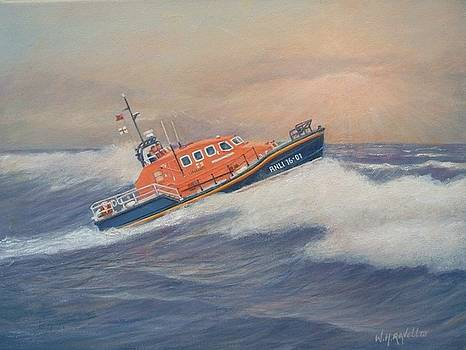 Royal National Lifeboat Institution Tamar Class lifeboat by William H RaVell III
