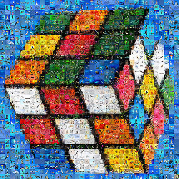 Rubik with nature by Gilberto Viciedo
