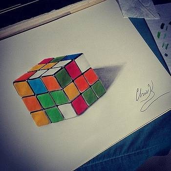 Rubik's Cube by Christopher Kyle