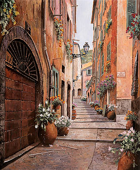 rue Malonat in  Nice by Guido Borelli