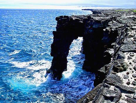 Rugged Kona Sea Arch by Amy McDaniel