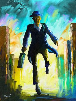 Running Man by Anthony Mwangi