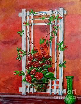 Running Roses by Melvin Turner