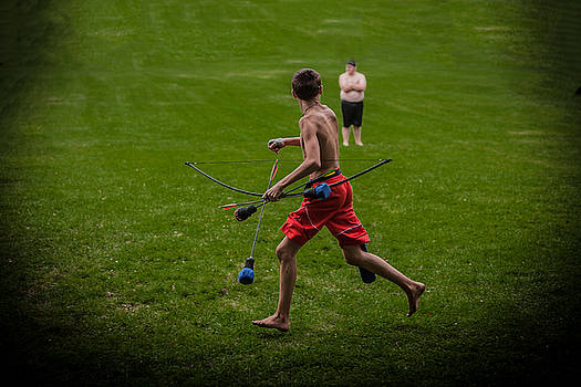 Running With Arrows by Ray Congrove