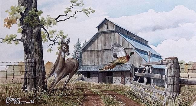 Rural Flush by C Robert Follett
