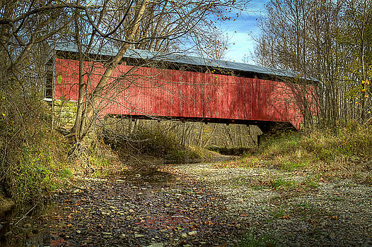 Jack R Perry - Rush Creek covered bridge