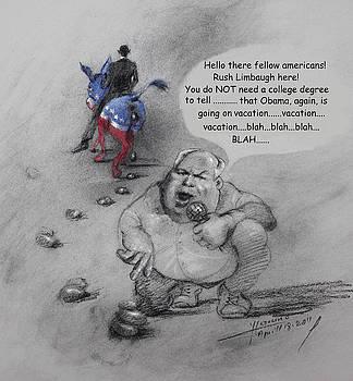 Ylli Haruni - Rush Limbaugh after Obama