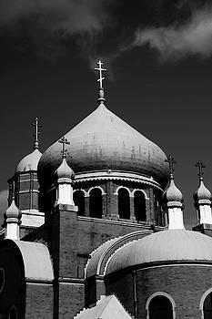 Karol Livote - Russian Orthodox Church BW