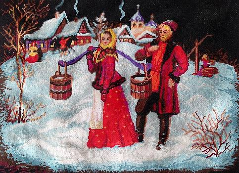 Russian Winter by Elena Soldatkina