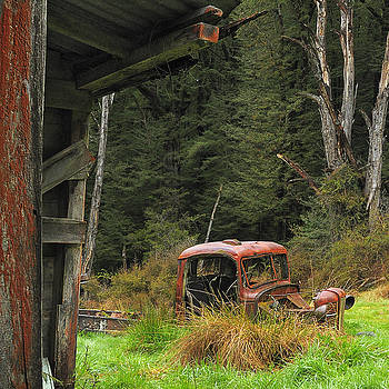 Rusted Truck by Barry Culling