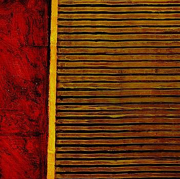 Michelle Calkins - Rustic Abstract One