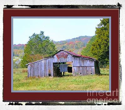 Rustic Barn by Shirley Moravec