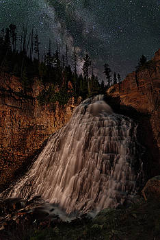 Rustic Falls Forever by Mike Berenson