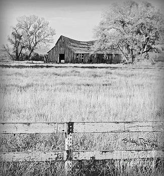 Rustic Nevada Barn by Bobbee Rickard