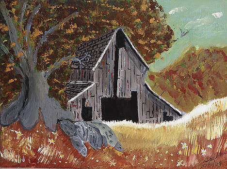 Rustic old barn by Swabby Soileau