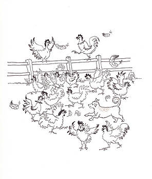 Rusty and the Chickens by Mary Ellen Mueller Legault