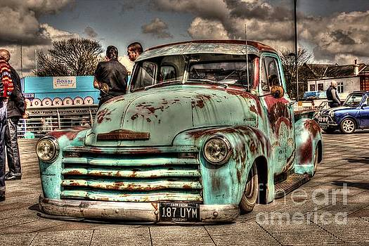 Rusty Chevrolet HDR by Vicki Spindler