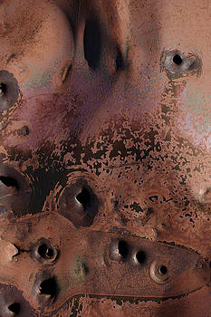 Rusty Detail 2 by Kathy Stanczak