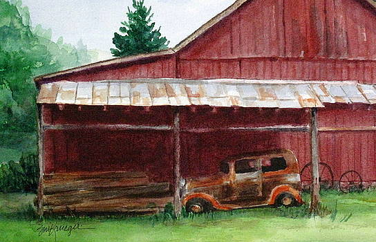 Rusty Ole Car by Suzanne Krueger