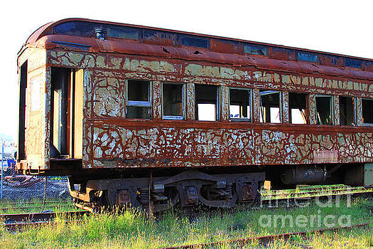 Rusty Train by Dawn Kori Snyder