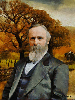 Rutherford B. Hayes by Kai Saarto