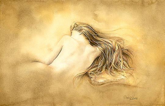 Ruw umber nude by David Evans
