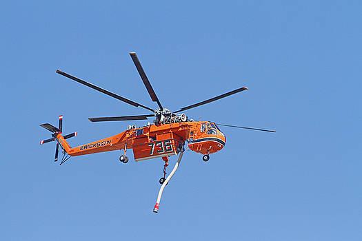 S-64E Elvis in Flight by Shoal Hollingsworth