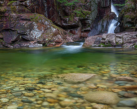 Sabbaday Falls Pool by Bill Wakeley