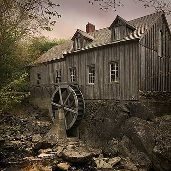 Sable River Gristmill by Christine Sharp